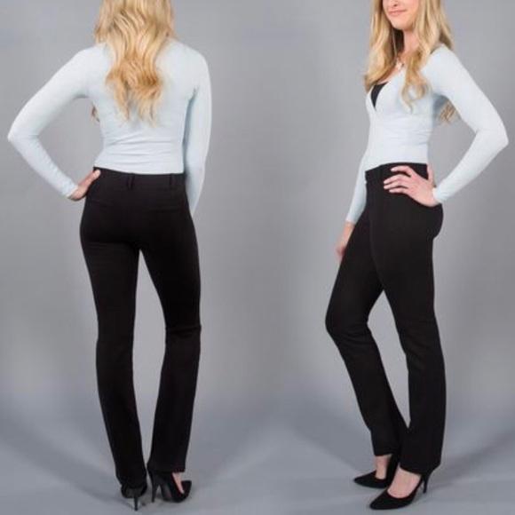 da30e5274fe2d Betabrand Pants | Beta Brand Dress Yoga Black Size M | Poshmark